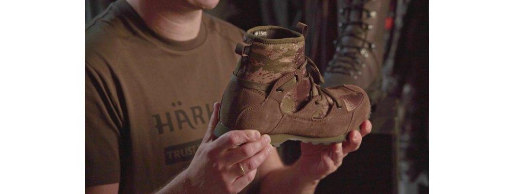 How Härkila designs its  footwear