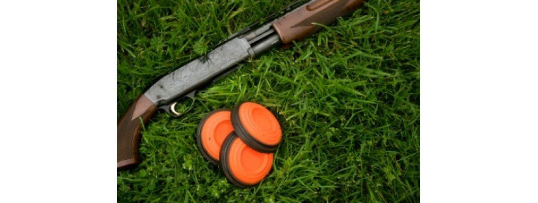 Clay targets shooting