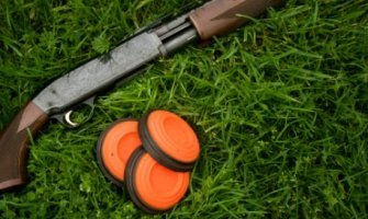 Clay targets shooting
