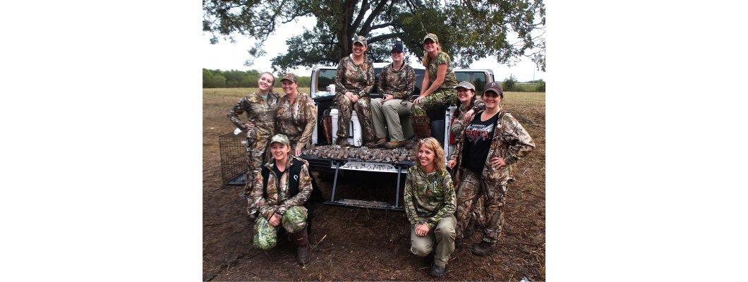 9 причини жените да ловуват