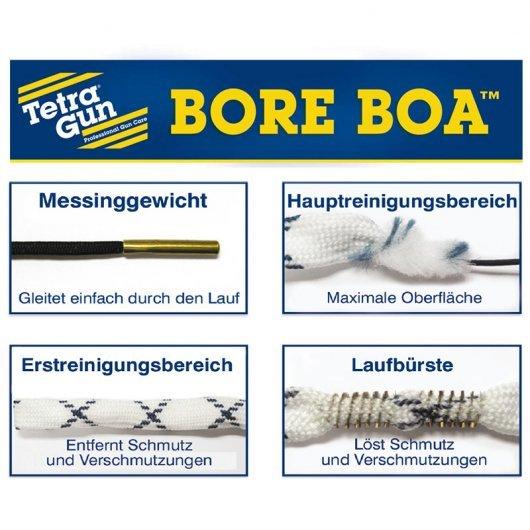 Tetra Gun Bore Boa™ - въже за почистване на цев - кал. 17