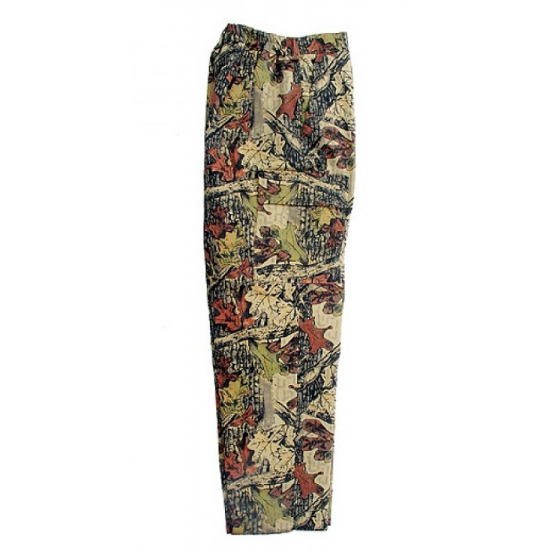 Camo trousers Leda - brown forest