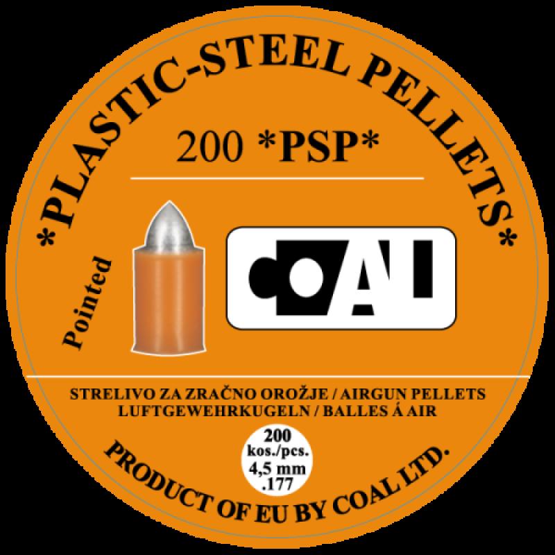 Airgun Pellets WP PSP Pointed - cal.4,5 - 200 pcs
