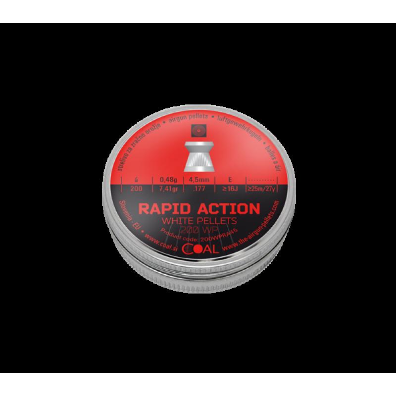 Airgun Pellets WP Rapid Action - cal.4,5 - 200 pcs