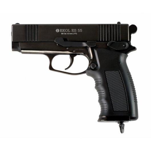Въздушен пистолет Ekol ES 55 с CO2 - черен