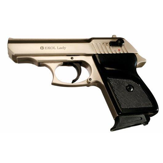 Газов пистолет Ekol Lady - сатен