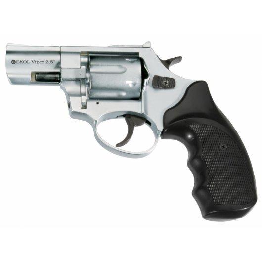 """Газов револвер Ekol Viper 2,5"""" - полиран хром"""