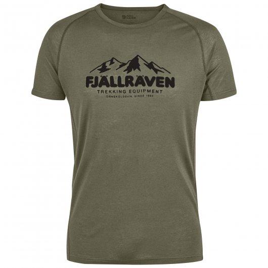 Fjall Raven Abisko trail T-Shirt print