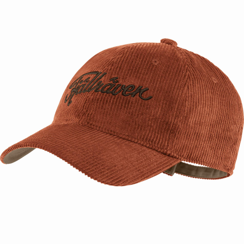 Fjall Raven Cord cap in autumn leaf
