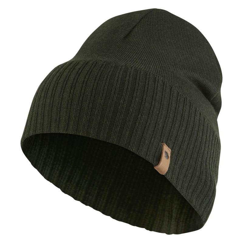 Fjall Raven Merino Lite hat in deep forest