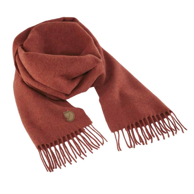 Fjall Raven Solid re-wool scarf in autumn leaf