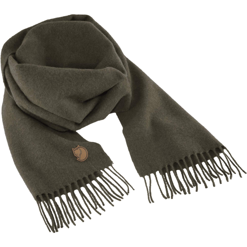 Fjall Raven Solid re-wool scarf in deep forest
