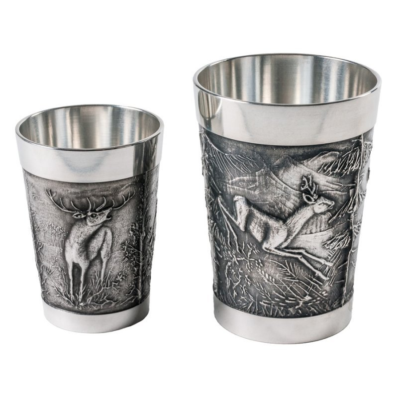 Fritzmann Pewter cup - 8,5 cm
