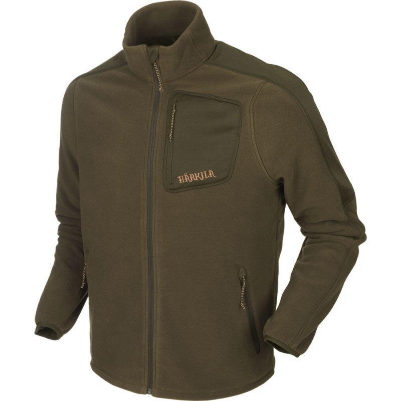 Harkila Venjan fleece jacket in willow green