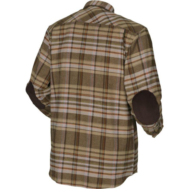 Harkila Eide shirt - khaki check