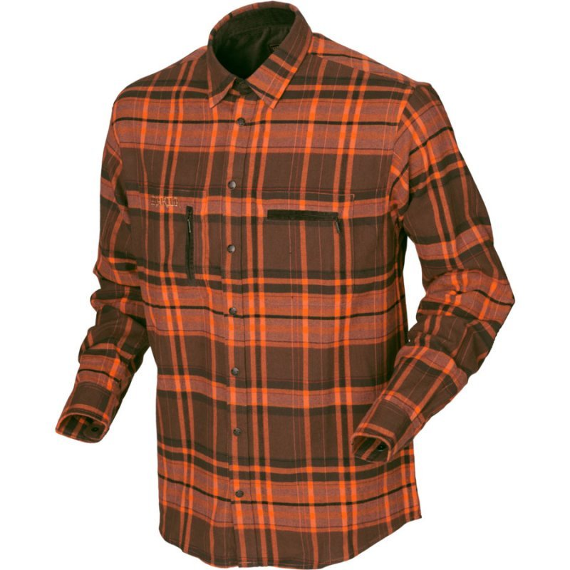 Harkila Eide shirt - orange check