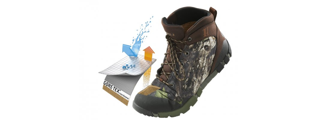 Harkila boots - approved by Gore