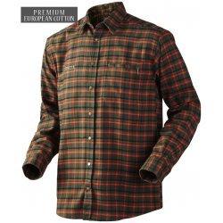 Harkila Kaali shirt - hunting green check