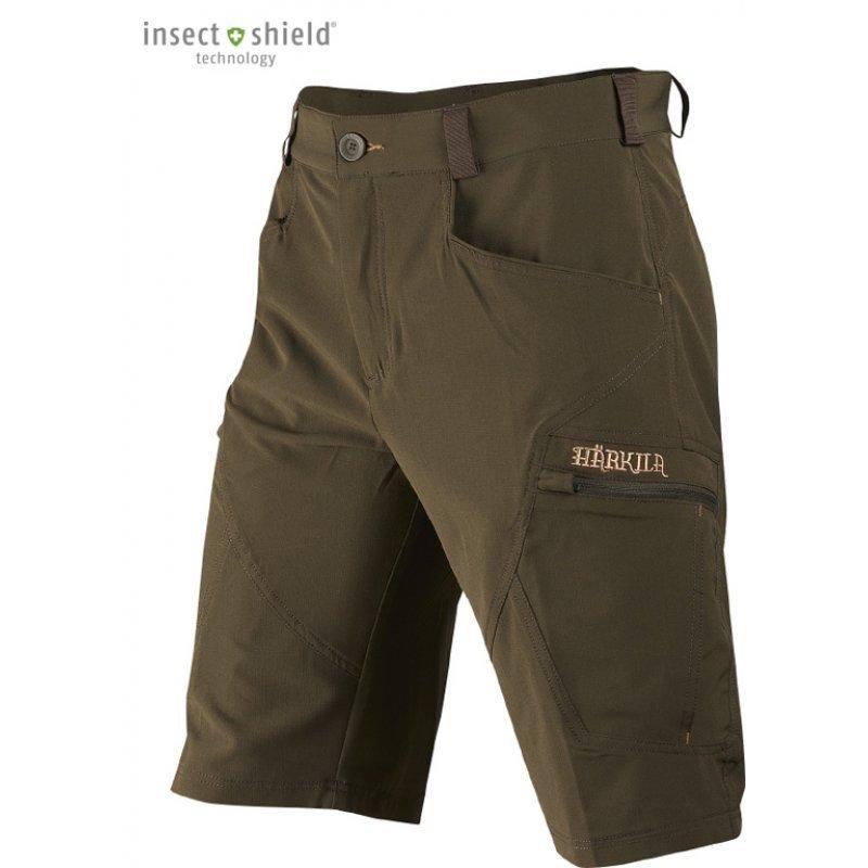 Harkila Herlet Tech shorts - willow green