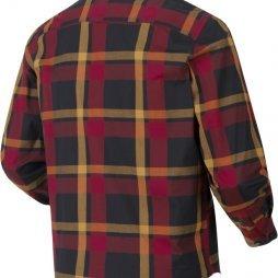 Amlet L/S shirt Red/Black check