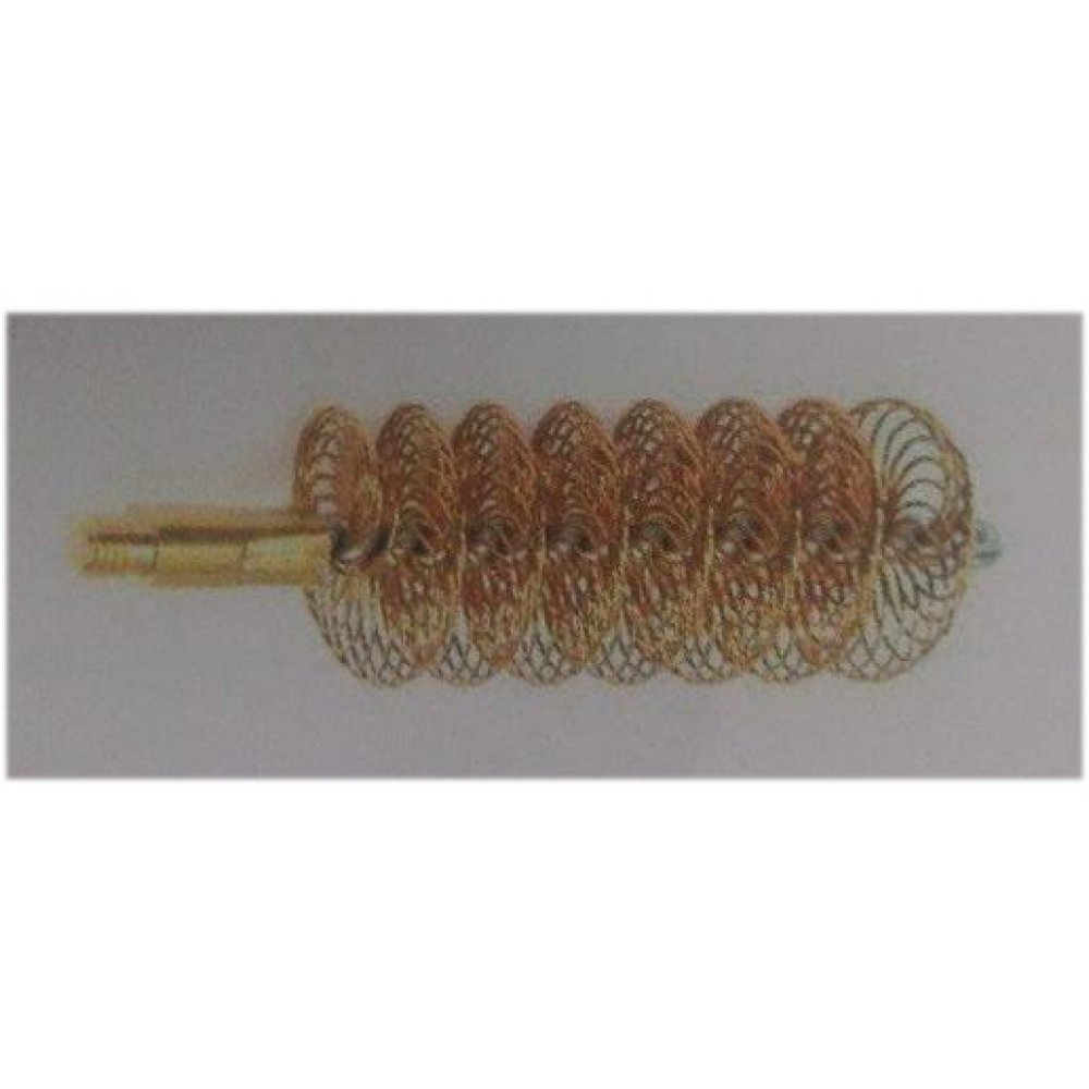 Megaline brass double spiral brush - cal.12