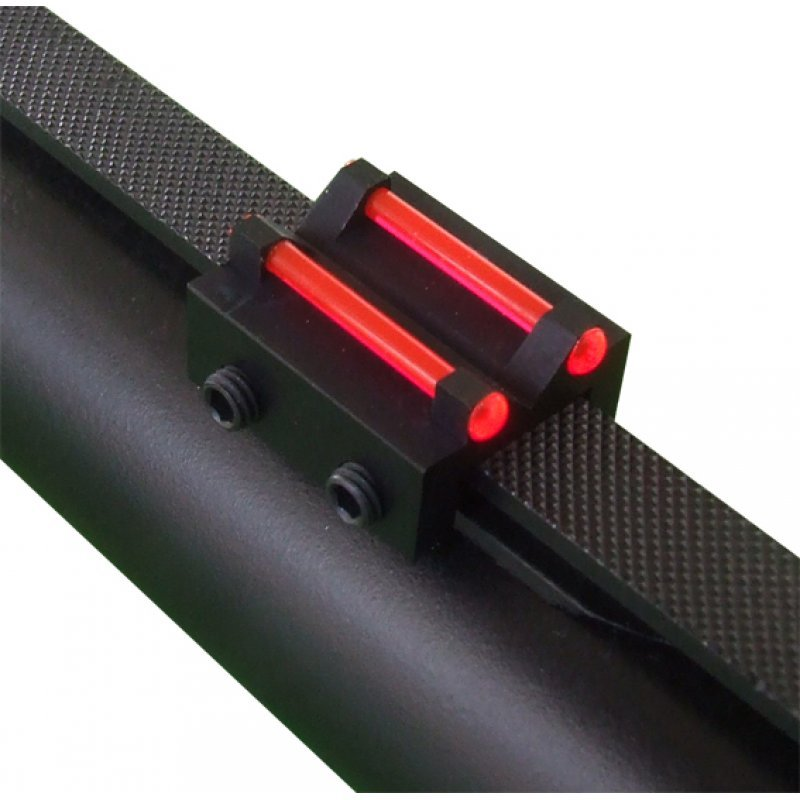 Rear sight Megaline - red- rib for less than 8.1 mm