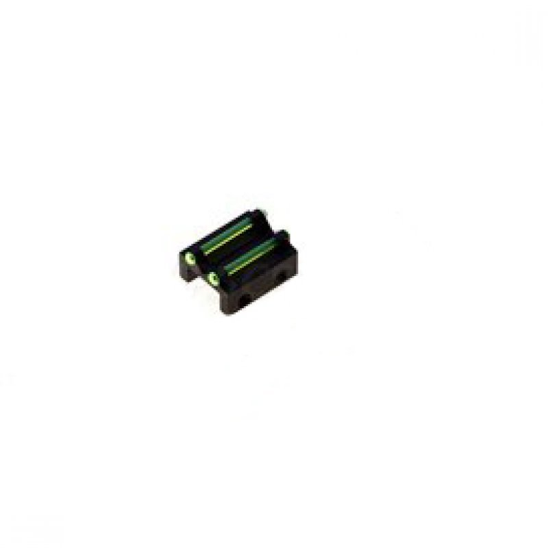 Rear sight Megaline - green - rib for less than 8.1 mm