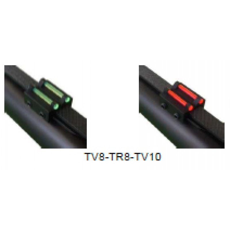 Rear sight Megaline - green - rib for less than 10.1 mm
