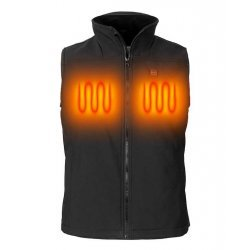 Nordic Heat Lady Black quilted Softshell vest