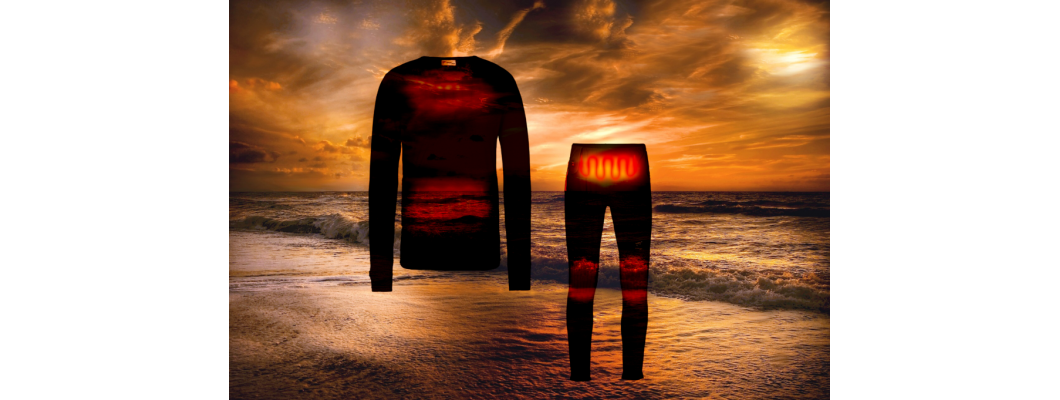 Underwear / Base layer with built-in-heat
