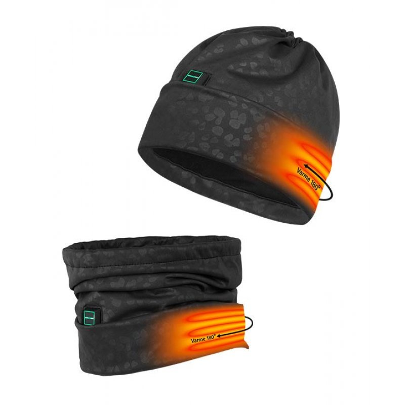 Nordic Heat heated neck and hat 2in1
