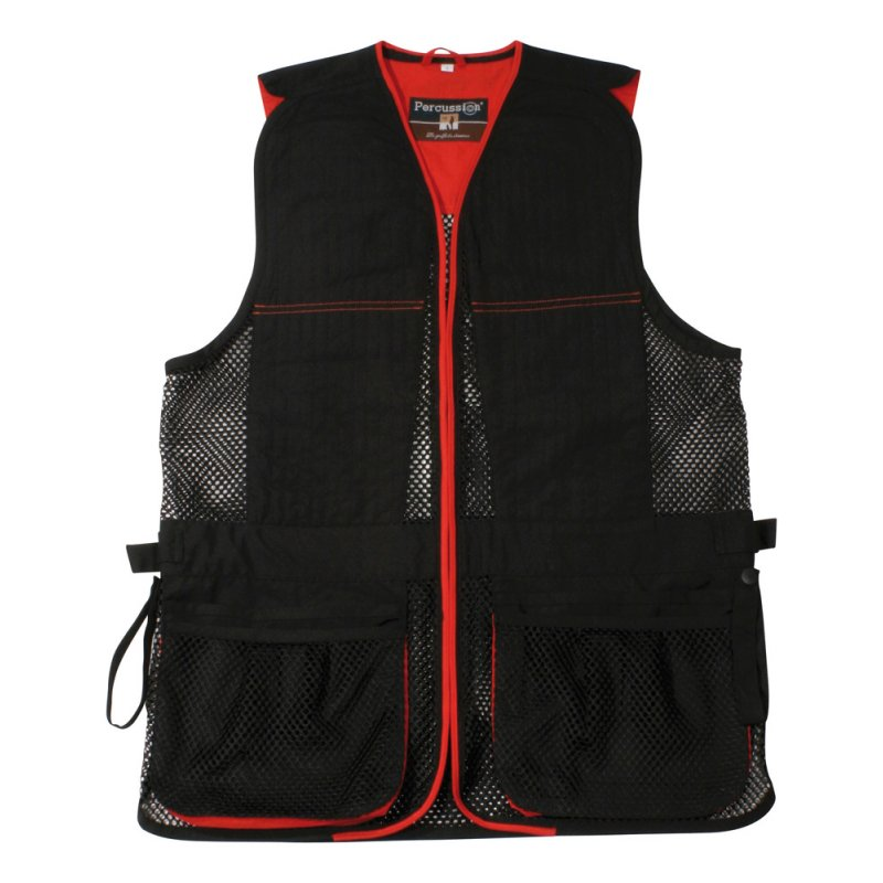 Ball-trap jacket Percussion - black/red