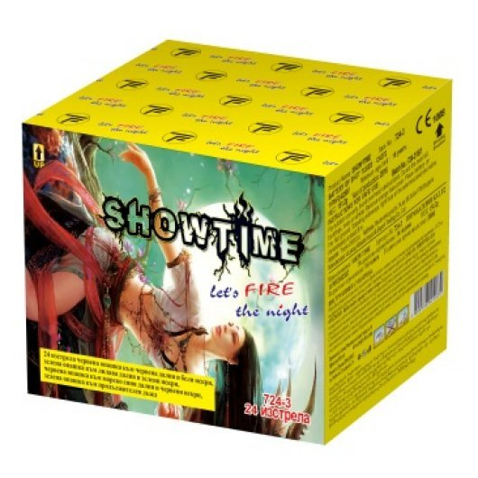 Пиробатерия Snowtime - 24 изстрела