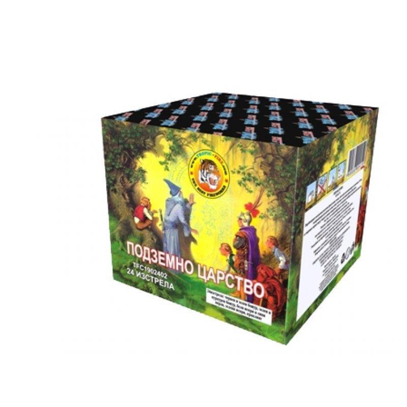 Pyrotechnic cakes Underground Kingdom - 24 shots