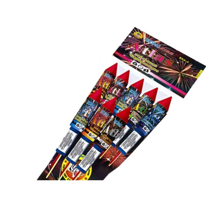 Rockets Atlas - 8 pcs