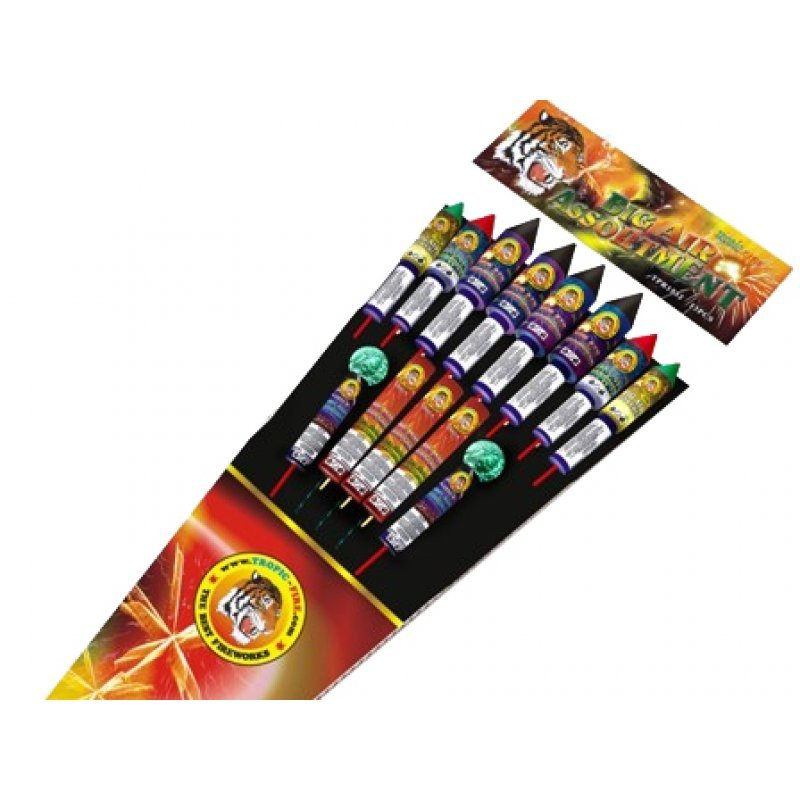 Rockets Big air assortment - 13 pcs