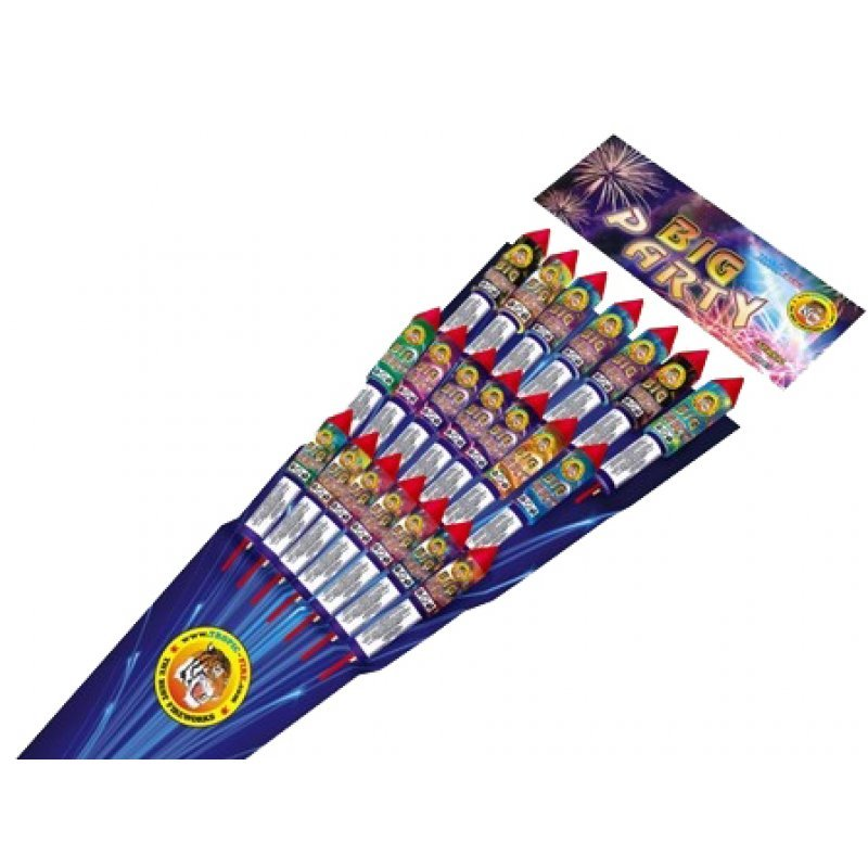 "Rockets ""Big party"" - 21 pcs"
