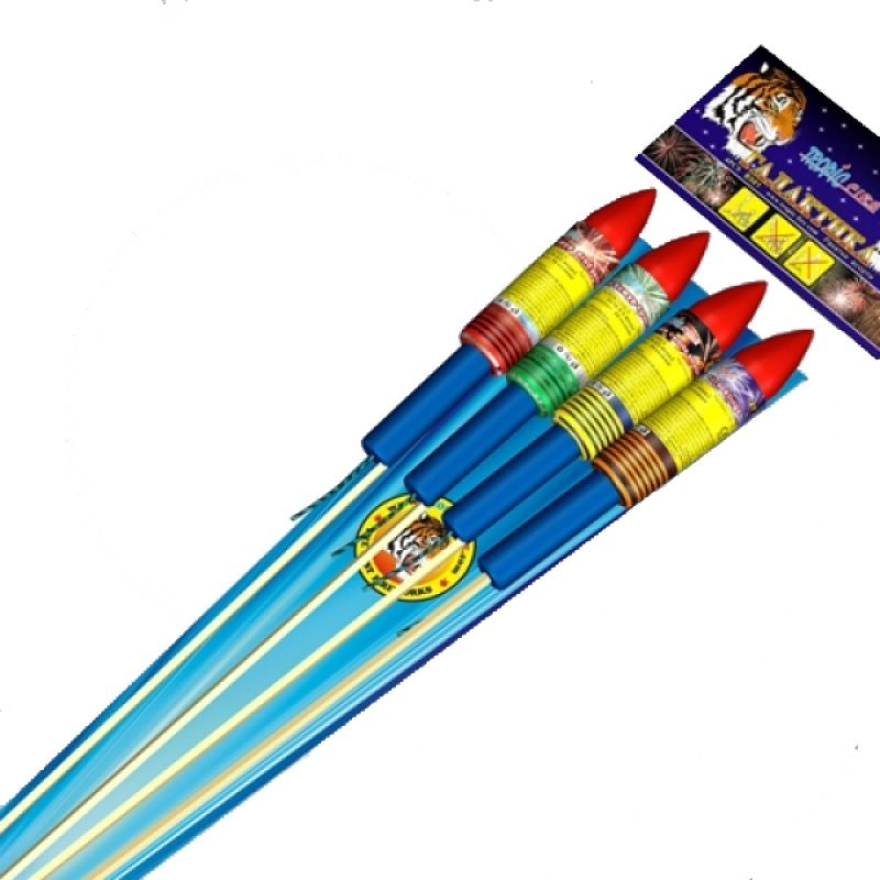 "Rockets ""Galaxy"" - 4 pcs"