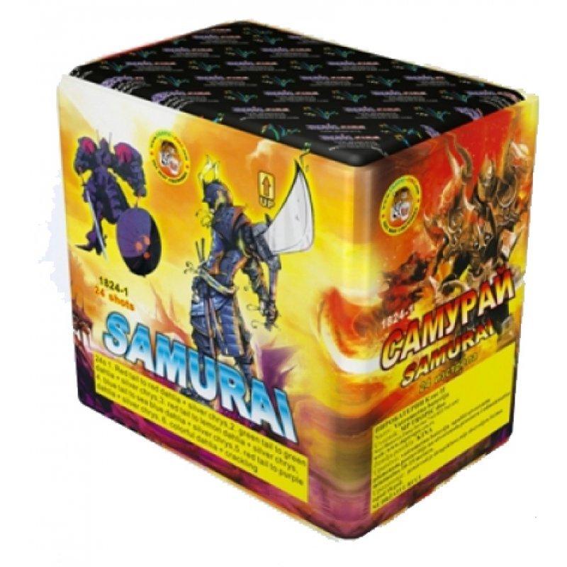 Pyrotechnic cakes Samurai - 24 shots