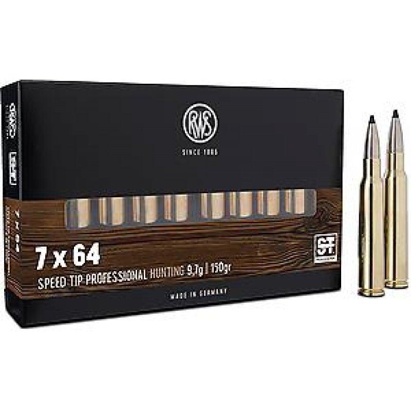 RWS rifle cartridges 7x64 Speed tip