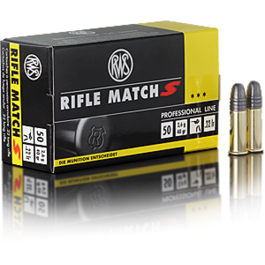 RWS 22 LR Rifle Match S 2.6g/40gr