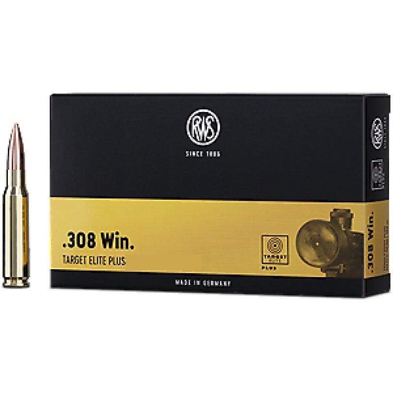 RWS rifle cartridges .308 Win Target Elite Plus - 12,3 g