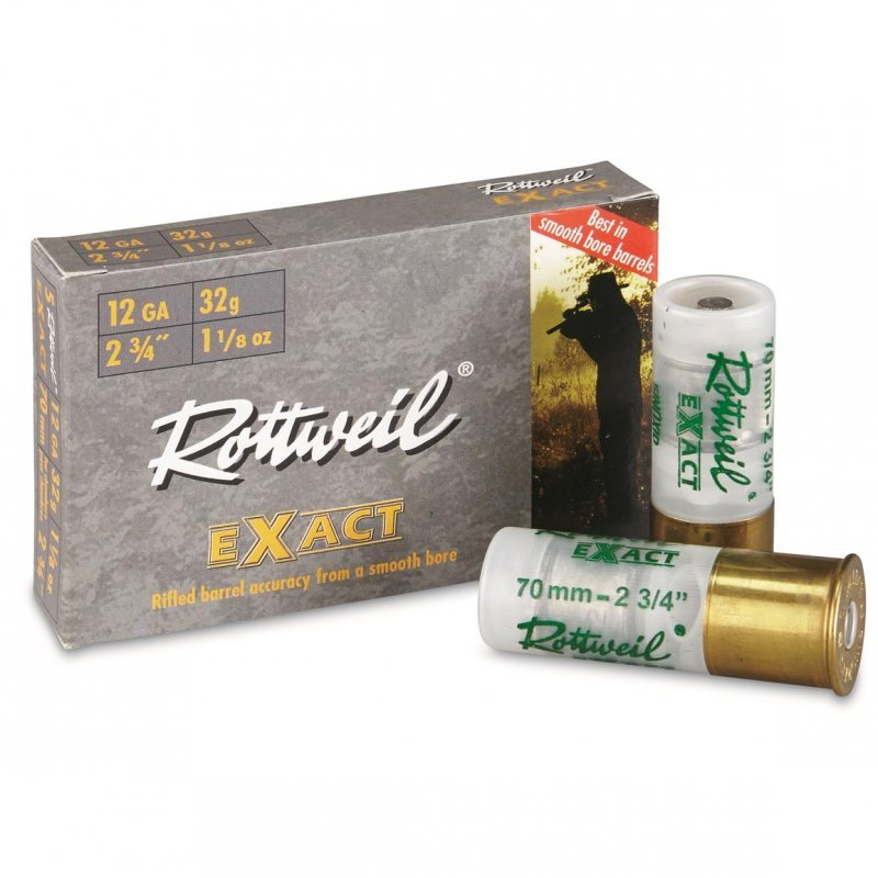 Rоttweil shotshells Brenneke Exact - 12 cal.