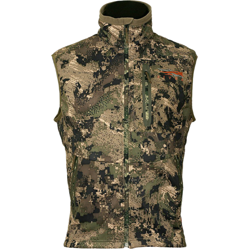Sitka Jetstream Vest in Ground Forest
