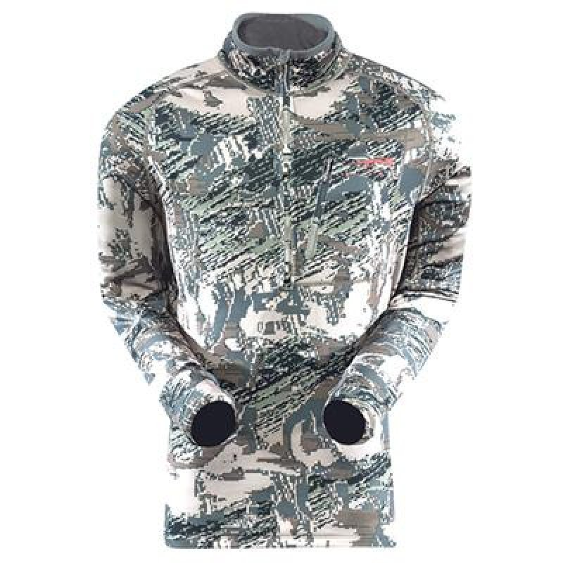 Sitka Traverse Zip-T base layer, Open Country