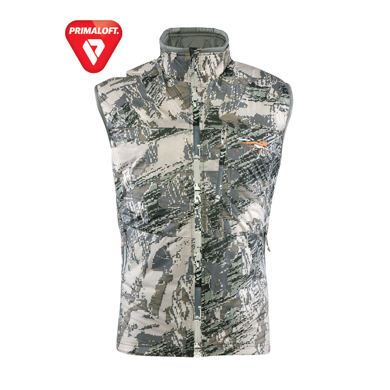 Sitka Kelvin Lite Vest in Ground Forest