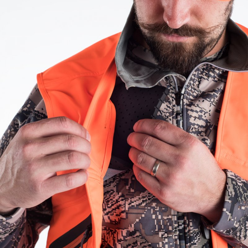 Sitka Ballistic Vest in Blaze orange