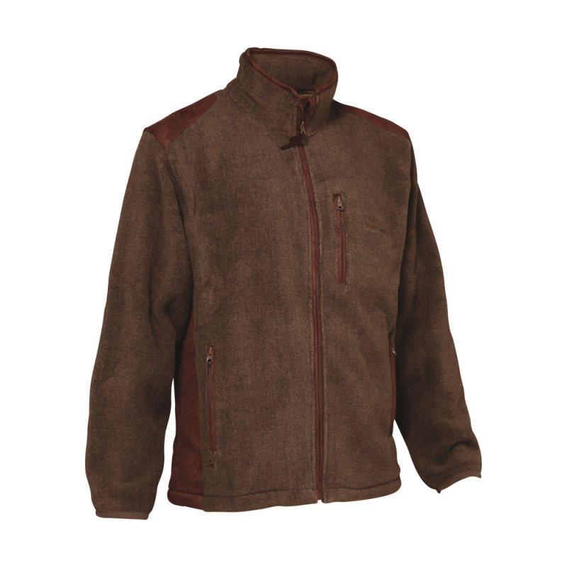 Verney Carron fleece - Presly - dark brown