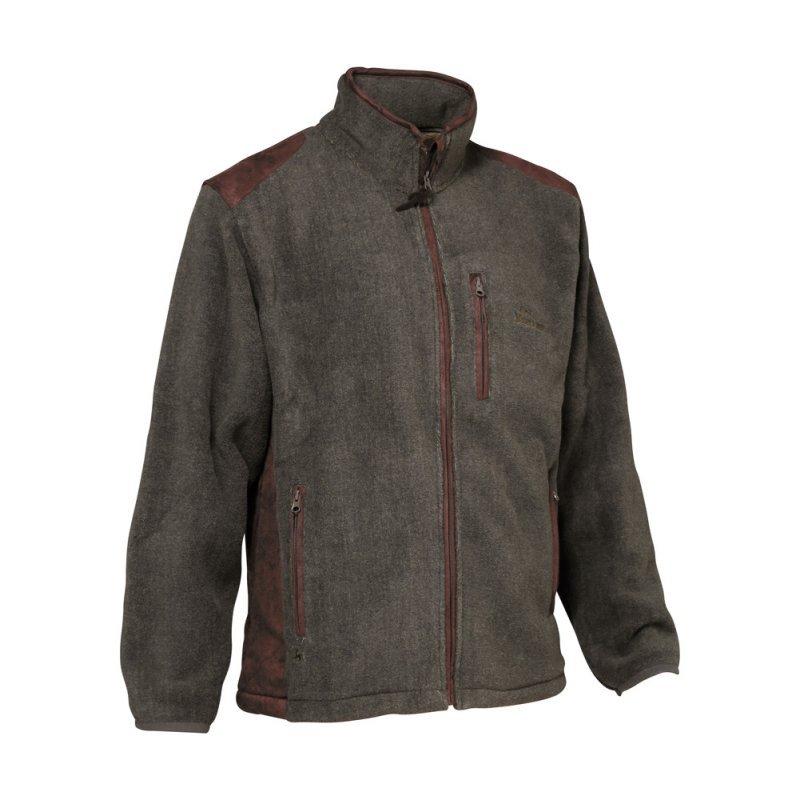 Verney Carron fleece - Presly - khaki color