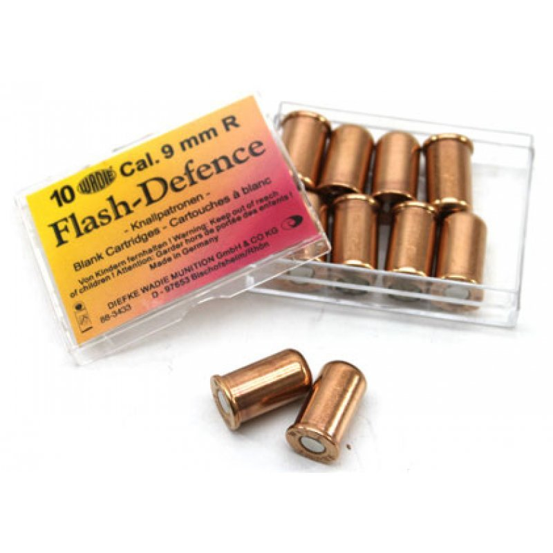 Blank revolver cartridges Wadie Flash Defence 9 mm